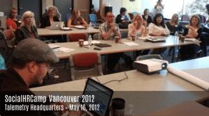 SocialHRCamp Vancouver 2012