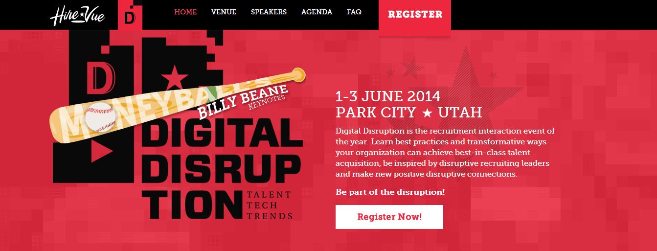 HireVue Digital Disruption User Conference