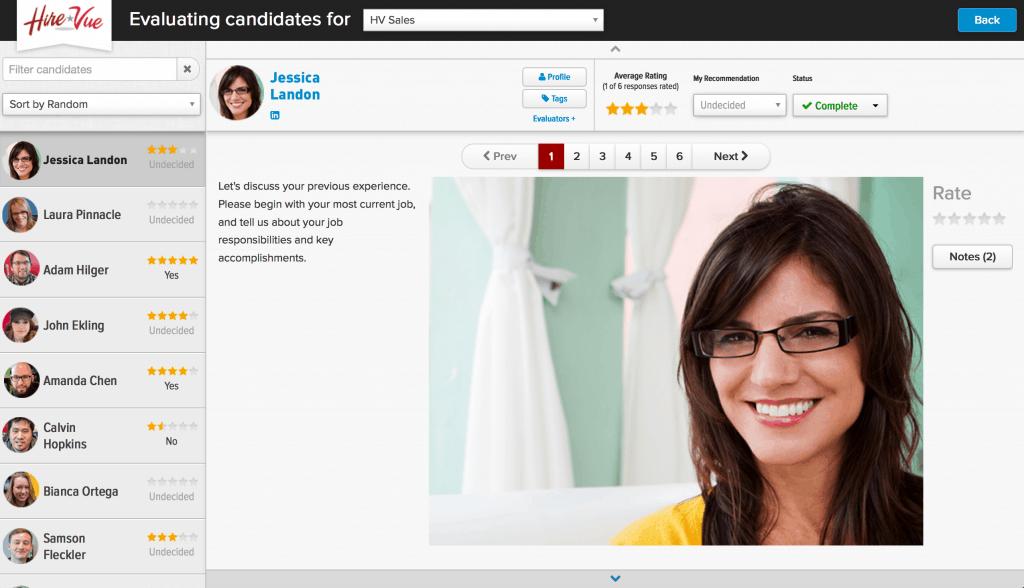 HireVue Digital Interviewing Platform