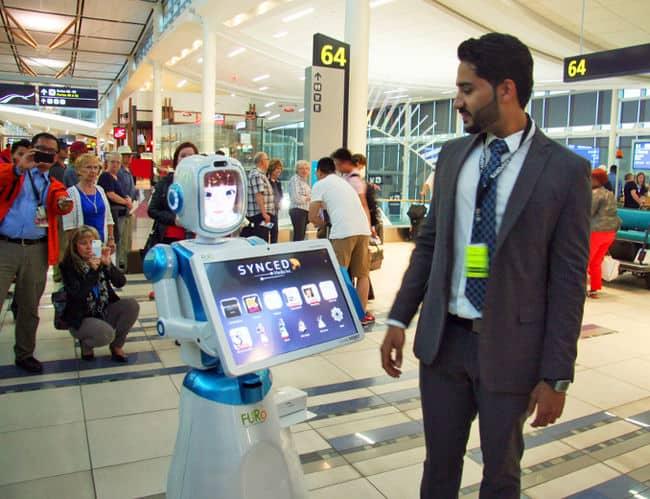 Robot Customer Service